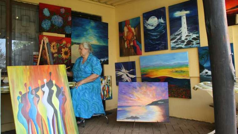 Helene's Art Studio