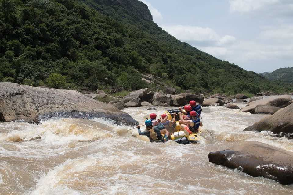 Oribi River rapids