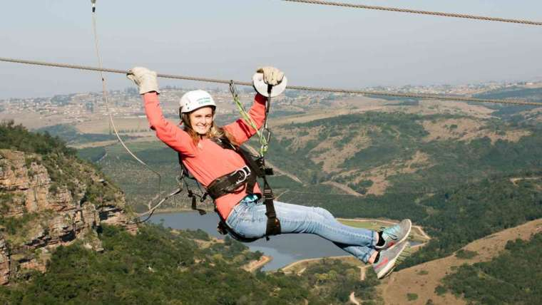 Africa's Longest and Fastest Zip Line on the KZN South Coast