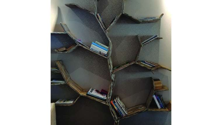 A bookcase for bibliophiles at Umthunzi