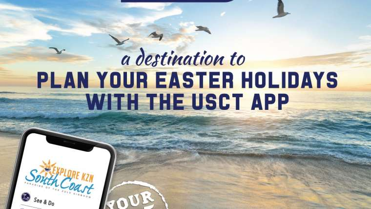 Explore the KZN South Coast with the USCT app this Easter