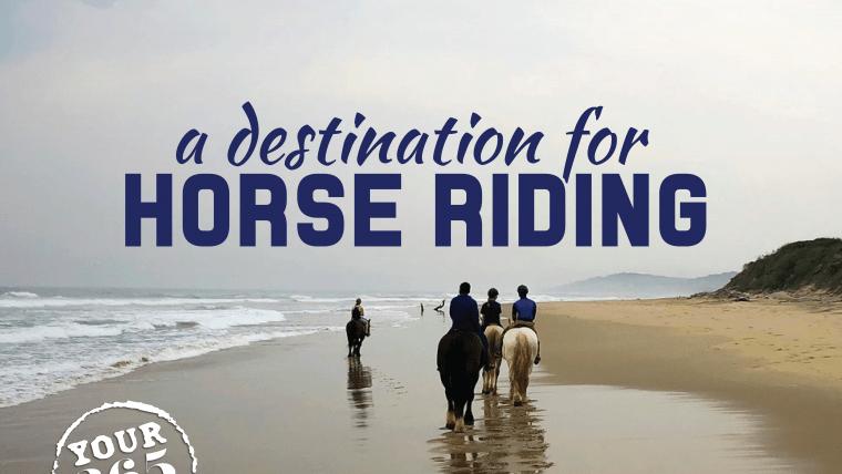 Horse riding along the KZN South Coast